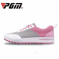 Sepatu Golf Super Breathable Bahan Mesh untuk Musim Panas