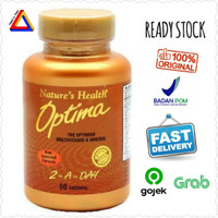 Natures Health Nature's Health Optima 2 A Day 60 Tablet
