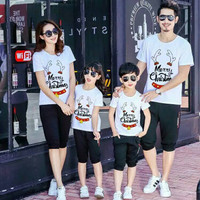 FAMILY COUPLE / BAJU KAOS COUPLE KELUARGA MURAH XMAS CHRISTMAS RUSA 2