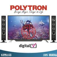 TV LED POLYTRON 43 Inch 43TS153 Digital TV Full HD Garansi 5 Tahun