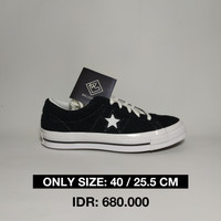 Converse One Star Ox Black White Original 100%