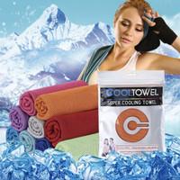 PANACHE Cooling Sport Towel Travel Face Towel Handuk Olahraga