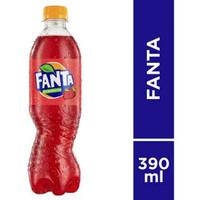 fanta strawberry botol 390mL
