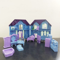 Mainan Anak Rumah-rumahan/ Happy Home With Frozen And Hello Kitty - Hello Kitty