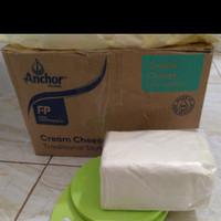 Anchor Cream Cheese repack 250gr dengan Plastik