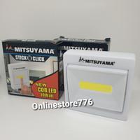 Lampu Tempel Emergency - Switch Light - Mitsuyama STICK N CLICK LED