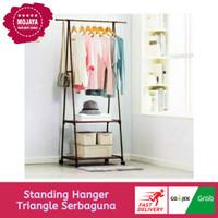 Triangle Stand Hanger Serbaguna