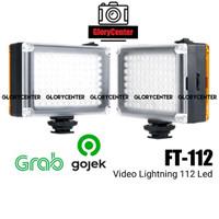 Video Lighting LED FT-112 Lampu Studio 112 LED Ulanzi Andoer Kamera