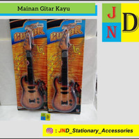 Mainan Anak Gitar Kayu 8816
