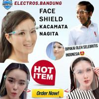 Face Shield Kacamata Pelindung Wajah APD Medis Anti Fog Safety Shield