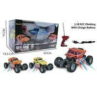 MAINAN MOBIL REMOTE CONTROL CLIMBING SUV LIGHT 3D - PR17495