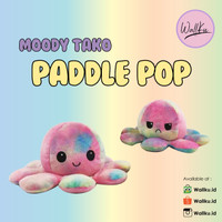 REVERSIBLE OCTOPUS / BONEKA GURITA / MOODY TAKO - LIMITED EDITION