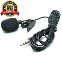 mic clip on jepit 3.5mm microphone youtuber mikrofon on bagus