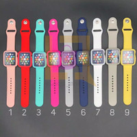 tali jam + bumper case with strap sport band 2 in 1 iWatch 38mm 42mm