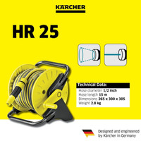 Karcher HR 25 | HR25 | Hose Reel | Selang Air