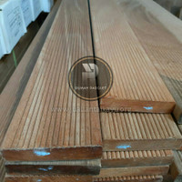 Lantai Kayu Decking Papan Bengkirai-Bangkirai-Bengkiray - 90cm