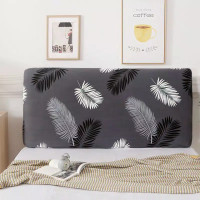 Printed Bed Headboard Cover Hot Sale Elastic Bedside Cover All-inclusi