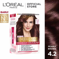 L'Oreal Paris Excellence Creme Hair Color - Pearly Brown