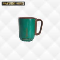 Mug Tutup Polo 220 ml Gelas Stainless SUS 304