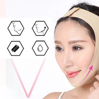 Facial Slimming Mask Face Lift Up Belt Thin Neck Mask Sleeping