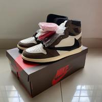 Travis Scott X Nike Air Jordan 1 High OG Cactus Jack Size US 10/EUR 44