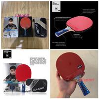 Bat Tenis Meja Bat Pingpong Bet Pingpong Loki 6star Carbon ORIGINAL