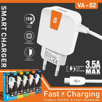 Charger SAMSUNG Smart VA-02 Micro USB 3.5A Max Packing import NEW