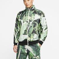 CK8077 083 Mens Nike Sportswear JDI Wind Runner Jacket Woven Floral