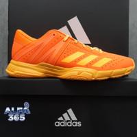 Sepatu Badminton Adidas Wucht P3 - Orange Gold - 2020 - Bulu Tangkis - 40.5