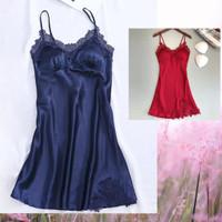 Baju Tidur Dress Daster Barbara Lingerie Sleepwear Seserahan Import
