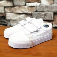 Sepatu Anak Vans Oldskool Kids Full Putih Murah