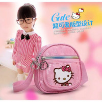 Fashion Anak : Tas Selempang Hello Kitty ala Korea Pink ( 2 Pilihan )