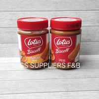 Lotus Biscoff Crunchy Biscuit Spread 380G/ 400 G /Selai Biscoff Sprea