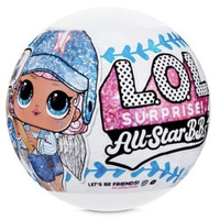 Lol surprise all star B.B.s sports s1 baseball sparkly dolls