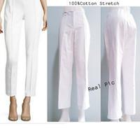 ANN Stretch white Pants