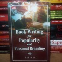 Buku Book Writing For Popularity & Personal Branding