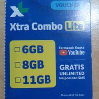 XL Xtr Comb Lite6/8/11 Ge be