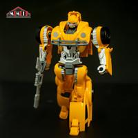 Mainan robot action figures metal transformers hornet- bumblebee car