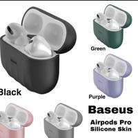 Premium case Airpods pro Silicone baseus Shell pattern silica gel