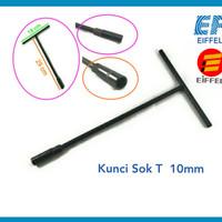 Kunci Sok T 10 mm T type Socket Shock T hitam EIFFEL EF