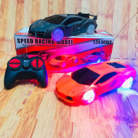 Rc Mobil Lamborghini Veneno Lampu warna warni -Mainan Anak mobil remot
