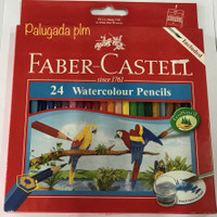 Pensil warna faber castell watercolour 24 warna