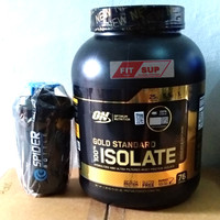 ON GOLD STANDARD ISOLATE 5,20 lbs B.P.O.M Free Shaker gold isolate wgs