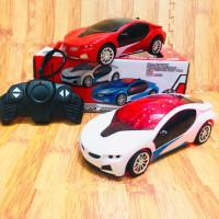 Remot Control Mobil BMW i8 3DLight l mainan anak mobil remot