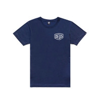 Kaos Deus Ex Machina Address Bali Tee Navy Blue Original DXM