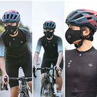 MONTON SPORT MASK WITH KN95 FILTER AND VALVE - Masker Sepeda Olah Raga