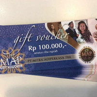 Promo Giftcard MAP