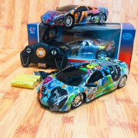 RC Mobil Lamborghini Aventador Warna warni -mainan mobil remot free ba