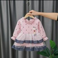 Dress anak bayi import, baju anak bayi import - 18-24 Bulan