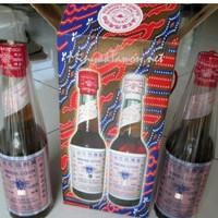 Minyak gosok cap tawon tutup merah 330 ml-asli makassar